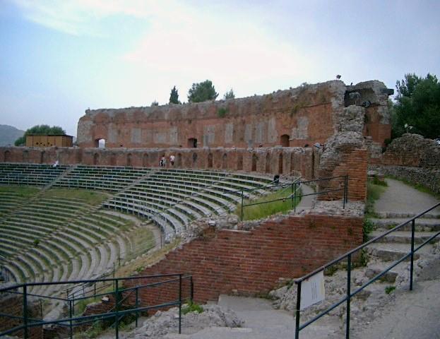 Taormina, anfiteatro