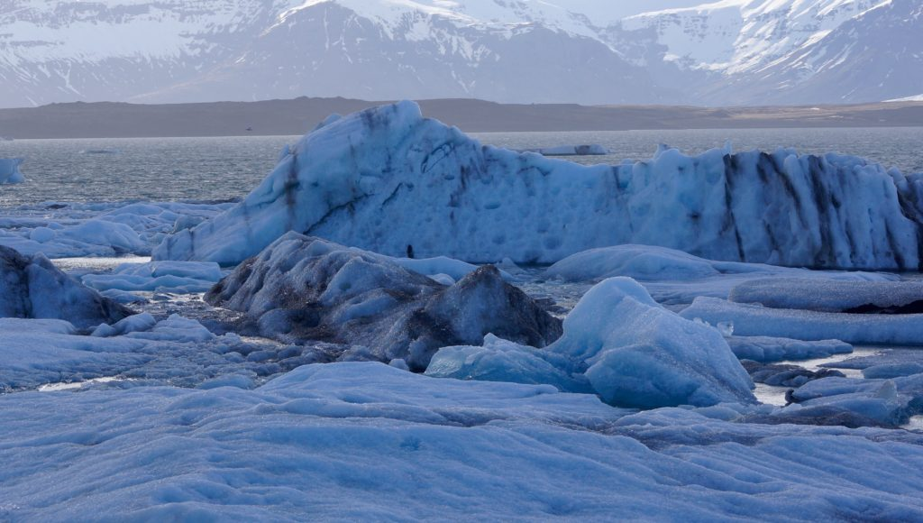 Islandia, Lagoa Glacial